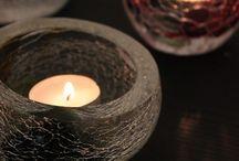 Winter season / Glass designs & art from Finland