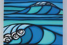 Glass - Sea Scenes
