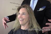 """""""the make over guy"""" Christopher Hopkins / haar, hair, make-up"""