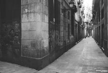 Barcelona Streets / Taken around Barcelona with a Fujifilm X100 and processed with VSCO Films