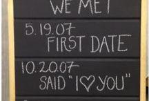 Bruiloftsversieringen