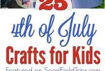 Patriotic Holidays / Ideas, printables, crafts, snacks and more perfect for Labor Day, Memorial Day, 4th of July and more with kids! #4thofjuly #patriotic #usa #crafts #kidsactivities