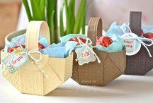 Ostern: Ideen aus Papier basteln  Easter Ideas Stampin'UP! / Ostern ist eine wunderbare Zeit für bunte und kreative Werke ob Karten Osternest Osterkorb Dekoration Verpackung basteln stempeln - jede Menge Inspirationen mit Stampinup