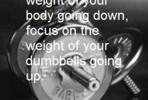 Weights and yoga love / Weightlifting, yoga, and physical health... / by Amanda Woodworth
