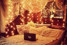 Teen bed room  / Ideas for decorating rooms for teens
