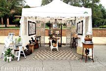 Art & Trade Show ideas / One day I may do another art show so I'm collecting ideas & plans just in case.