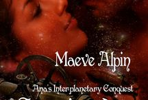 Steampunk fantasy romance book Conquistadors in Outer Space