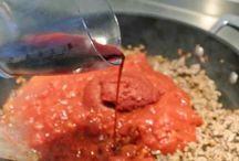 Sausen voor gerechten / Voor vlees en pasta