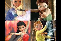 Elsa different powers
