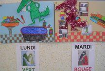 École Loup / wolf at school / activités autour du loup