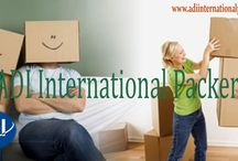 ADI International Packers / ADI International Packers fully take care of the loading of goods from one place and then unloading them at other place without making you tired and without creating unnecessary problems. We are best in the packing and moving service. We ensure that all the goods are perfectly packed so that they don't stand any chances of damage during transportation. The shifting is done without any inconvenience and in a hassle free manner.