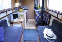 Small spaces ideas / Simply my obsession to try and someday simplify my life and remodel my camp trailer. / by Kathleen O'Leary Wedgwood