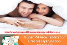 Super P Force Tablets / Super P Force is a safe drug for men's sexual treatment which treats two major types of sexual problems such as ED and premature ejaculation successfully.