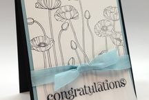 Stampin Up Set - Pleasant Poppies