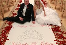 Wedding aisle runner idees