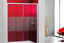 Serie Access / Mamparas de ducha y baño Serie Access / Sin perfilería entre vidrios.