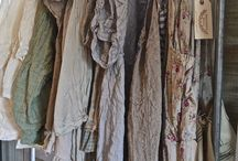 Vintage Linens and Clothing