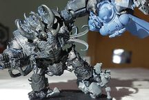 hellbrute conversion black legion / Full black legion conversions. first army first time painted
