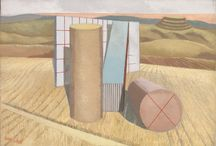 So surreal... / Paul Nash's surreal depictions of post war British countryside take us to a dark and strangely beautiful dreamland.  Placing Nash within the context of Surrealism as a whole, on this board we have chosen examples from its beginning to the present day. Come and see his work in a major retrospective at Tate Britain from October 26 2016 - March 5 2017.
