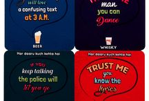 'Sharsab Ki Boli' Coasters