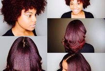 AFRO HAIR STRAIGHTENING