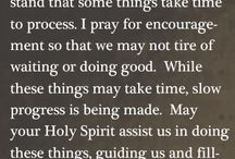 Prayer: Asking, Seeking, Knocking / by Jade Hobbs