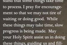 Prayer: Asking, Seeking, Knocking / by Jade Hobbs