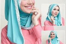hijab / with our covered could be different, not just a style but obligatory for a Muslim