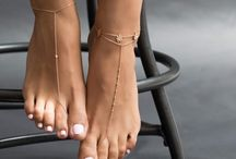 Náramky na nohu