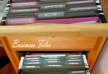 Organizing  / by Rebecca Yeager