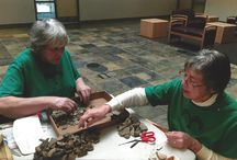Volunteers / Our amazing volunteers sort artifacts, photograph, lead tours, and make the museum a better place!