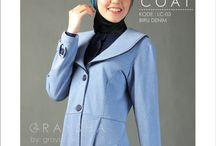 coat / coat muslimah