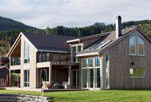 Tigla Metalica Decra Stratos / Un Acoperiș cu #tiglametalica Decra Stratos (pepperstone) fantastic de frumos, în Norvegia.  Detalii despre Decra Stratos pe www.decra.ro
