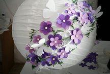 ideas para decorar globos  chinos