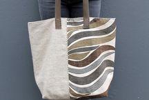 Tote bags / Bolsos de tela, especiales para verano y viaje