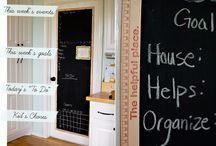 Chalkboards / by Crystal Chesser
