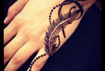 feather mehndi