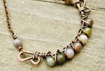 wire wrapped beaded