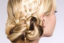 inspiracje ślubne / wiązanki, fryzury