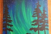 January Painting