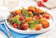 salade de ( fondue parmesan )