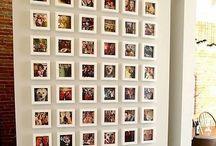 parede fotos
