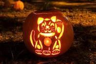 Pumpkin carvings