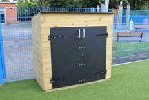 Playground Storage & Bins