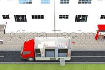 mobile workshop / container models