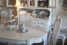 white furniture/rooms