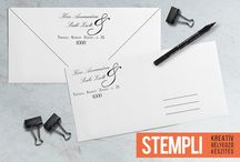 Címbélyegzők / Custom Address Stamp / Egyedi címbélyegződdel feldobhatod a leveleidet!