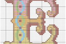 x stitch letters