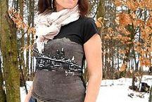by Zuzy ...Brooklyn / Ručne maľované tričká a a aj iné textilné vecičky vyrábam na objednávku.