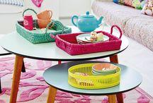 Kleurrijke interieurs / Kleurrijke interieurs